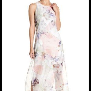 Vince Camuto NWOT Floral Maxi Kaftan Dress - XL